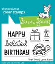 """Lawn Fawn Stempelset """"Year Two"""" Clear Stamp"""