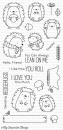 """My Favorite Things - """"Happy Hedgehogs"""" Clear Stamp (BB-38)"""