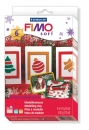 "FIMO soft Xmas-Set, 6xFimo-Block + Motiv Form ""Christmas"""