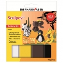 Sculpey Activity Kit Safari 4x28g + Anleitung