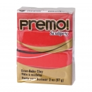 PREMO, ofenh�rtende Knete, 57g Packung in granatapfelrot
